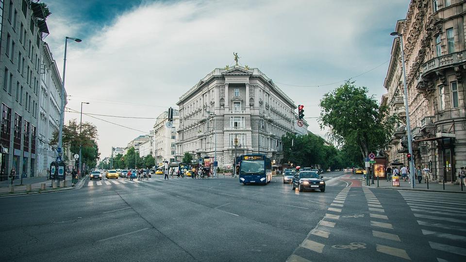 Ulica w centrum miasta